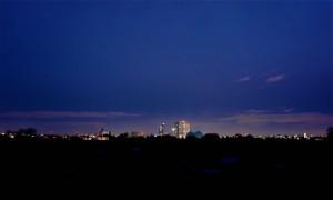 名古屋市街地の夜景